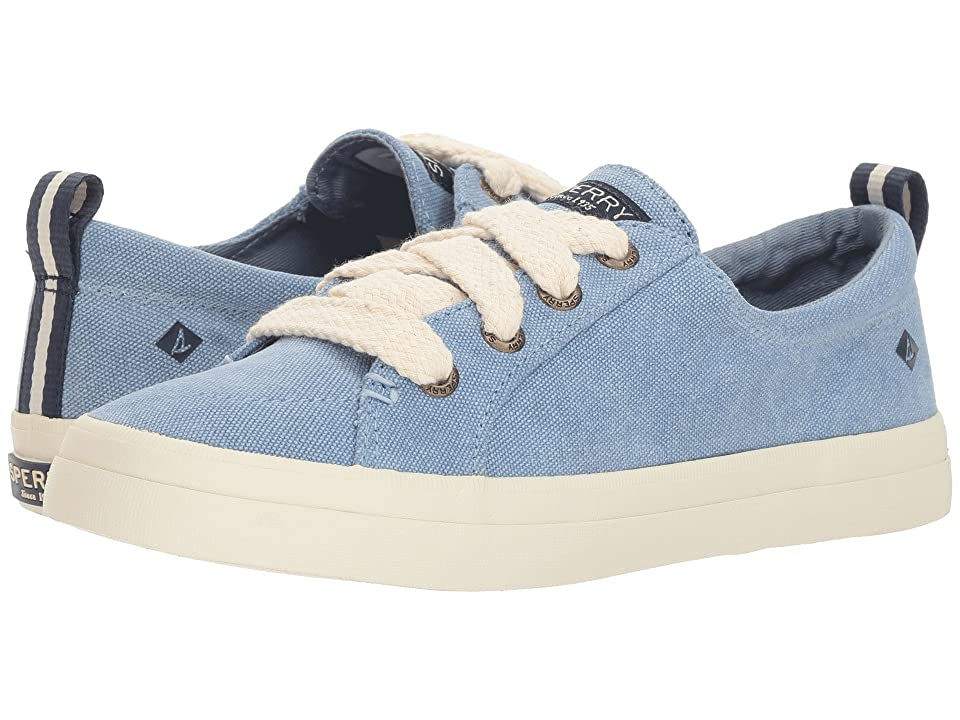 Sperry Crest Vibe Chubby Lace (Dusty Blue) Women