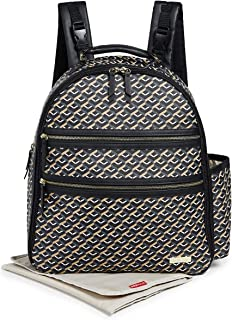 Skip Hop Women's Deco Saffiano Backpack
