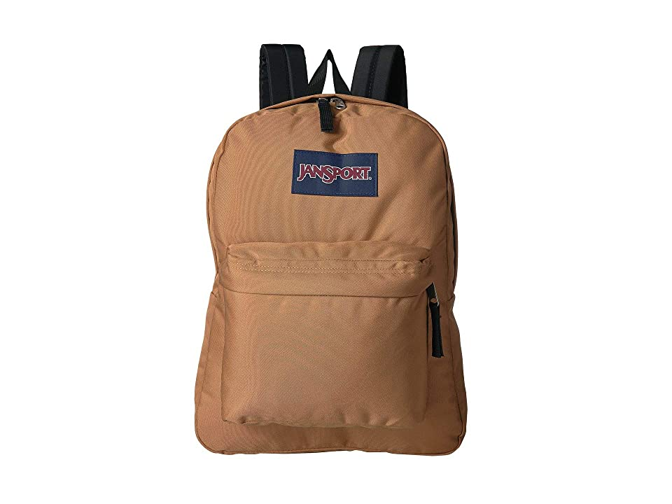 JanSport SuperBreak(r) (Carpenter Brown) Backpack Bags