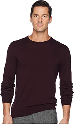 Jersey Knit Crew Neck Sweater