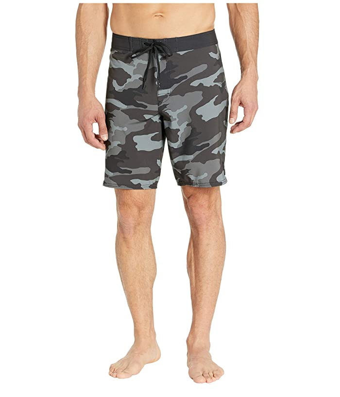 RVCA VA Trunks Print (Charcoal/Black) Men