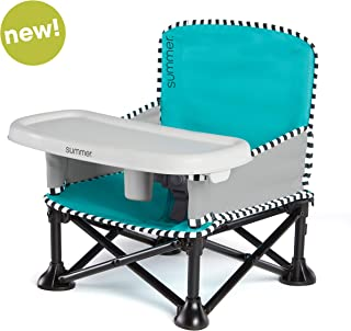 Summer Pop 'n Sit SE Booster Chair (Sweetlife Edition), Aqua Sugar