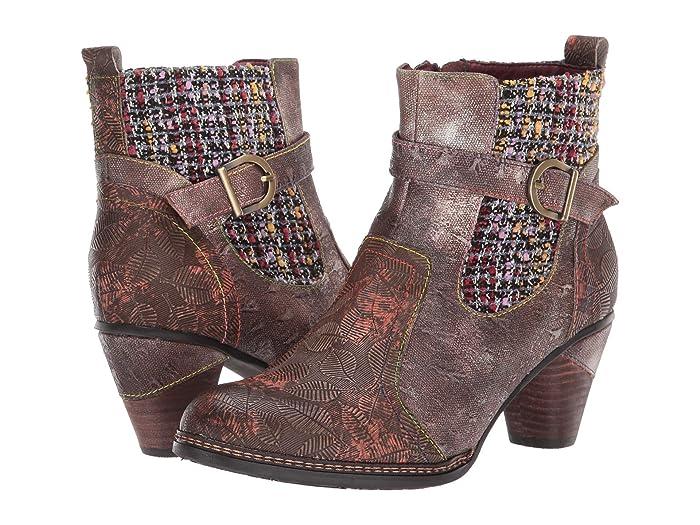Vintage Boots- Buy Winter Retro Boots LArtiste by Spring Step Nancies Olive Multi Womens Boots $129.95 AT vintagedancer.com