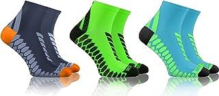 Calcetines Deporte Colores Cortos Algodón Hombre Mujer 3-12 Pares