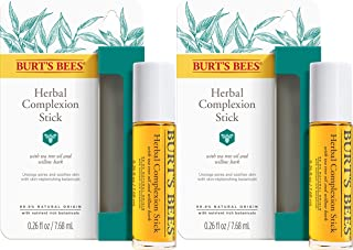 Burt's Bees Herbal Complexion Stick, 1 Stick (Pack of 2) (Package May Vary)