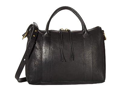 Madewell Prague Satchel (True Black) Handbags