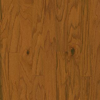 Bruce Plano Oak Gunstock 3/8 in. Thick x 3 in. Wide x Varying Length Engineered Hardwood Flooring (30 sq. ft./case)
