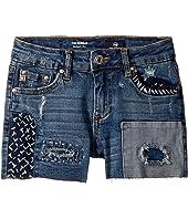 Patchwork Shorts (Big Kids)