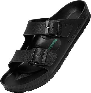 SAGUARO Zapatillas de Playa Pare Hombre Y Mujere Antideslizante Ligeros Casual Sandalias Ajustable Zapatos Baño Slippers