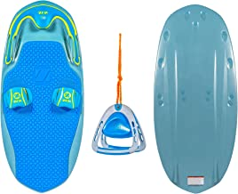 ZUP You Got This 2.0 Board and Handle Combo, All-in-One Kneeboard, Wakeboard, Wakeskate, and Wakesurf Board for All Ages