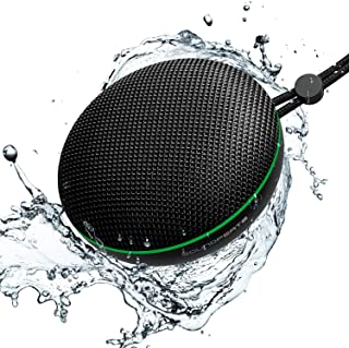 SoundPEATS Halo Bluetooth Speaker V5.0 Portable Wireless Speaker with 360 HD Surround Stereo Sound, 40mm Driver for Deep B...