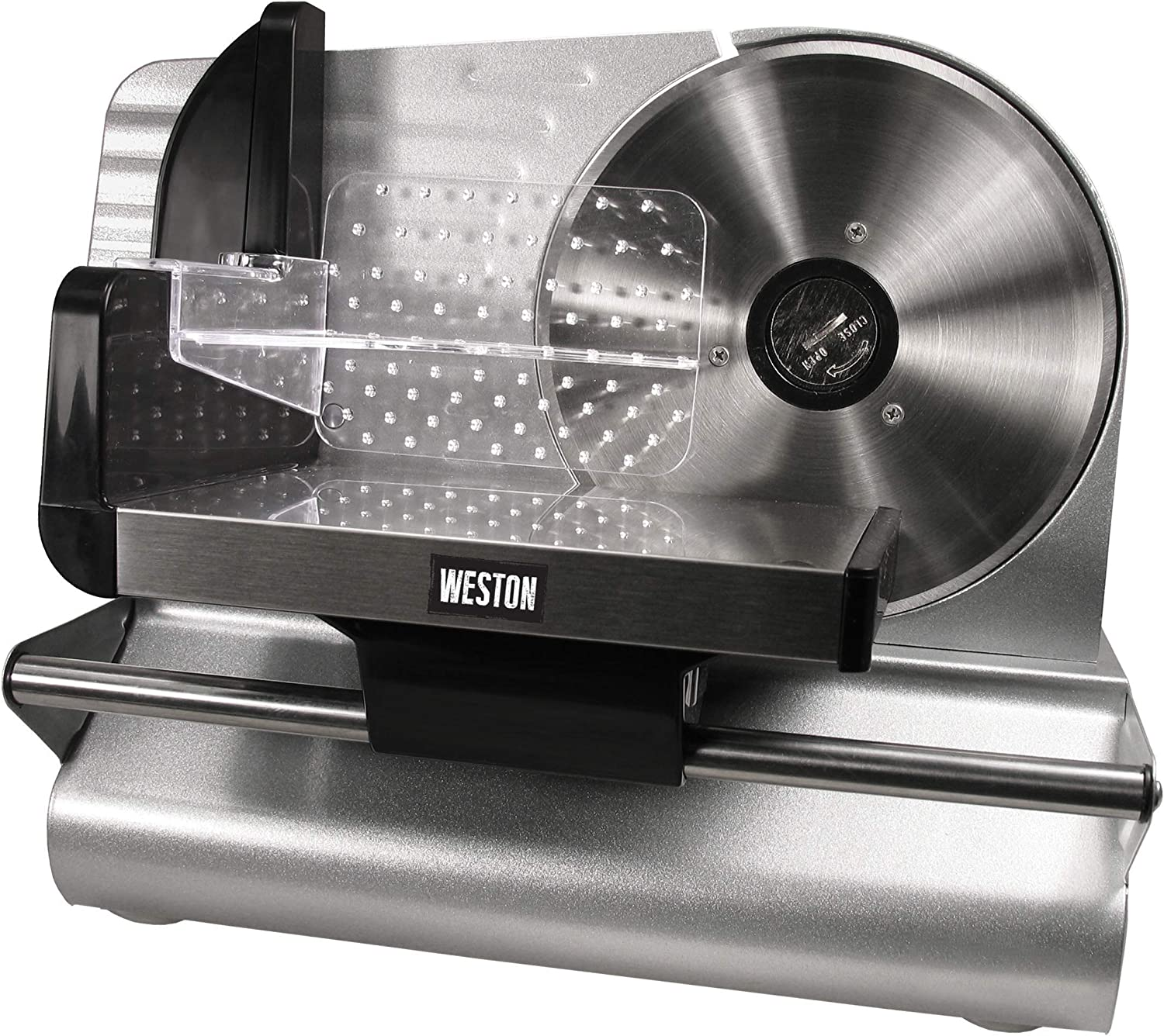 Weston 7.5-Inch Stainless Steel Food Slicer (83-0750-W)