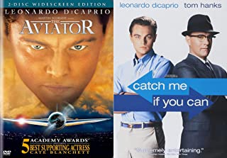 Watch Leonardo DiCaprio Fly!!! Catch Me If You Can & The Aviator Widescreen 2 Disk Edition (2 DVD Bundle)