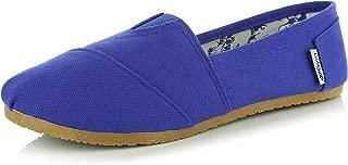 Women's Classic Flats Memory Foam Cushioned Soft Daily Slip-on Casual Sneaker Flat Shoes