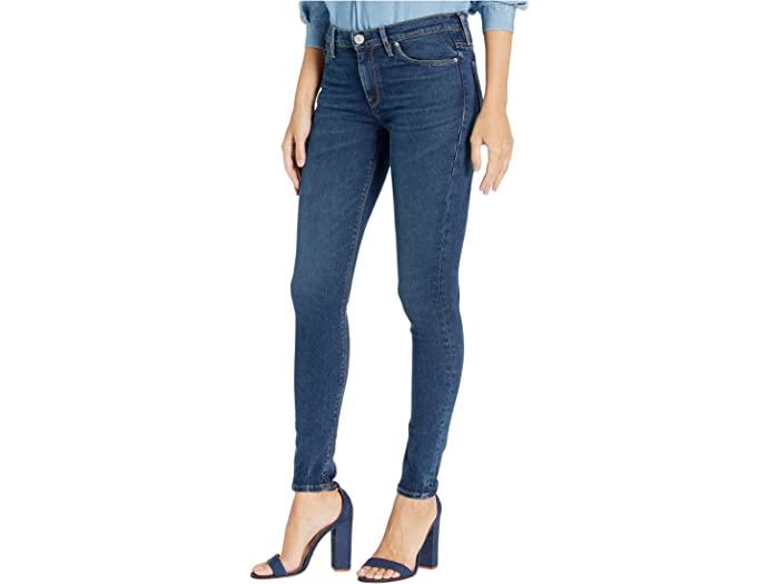 Hudson Womens Nico Midrise Skinny Jean with Recovery