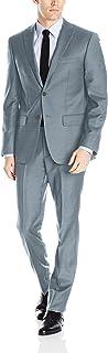 DKNY Men's All All Wool Slim Fit Suit