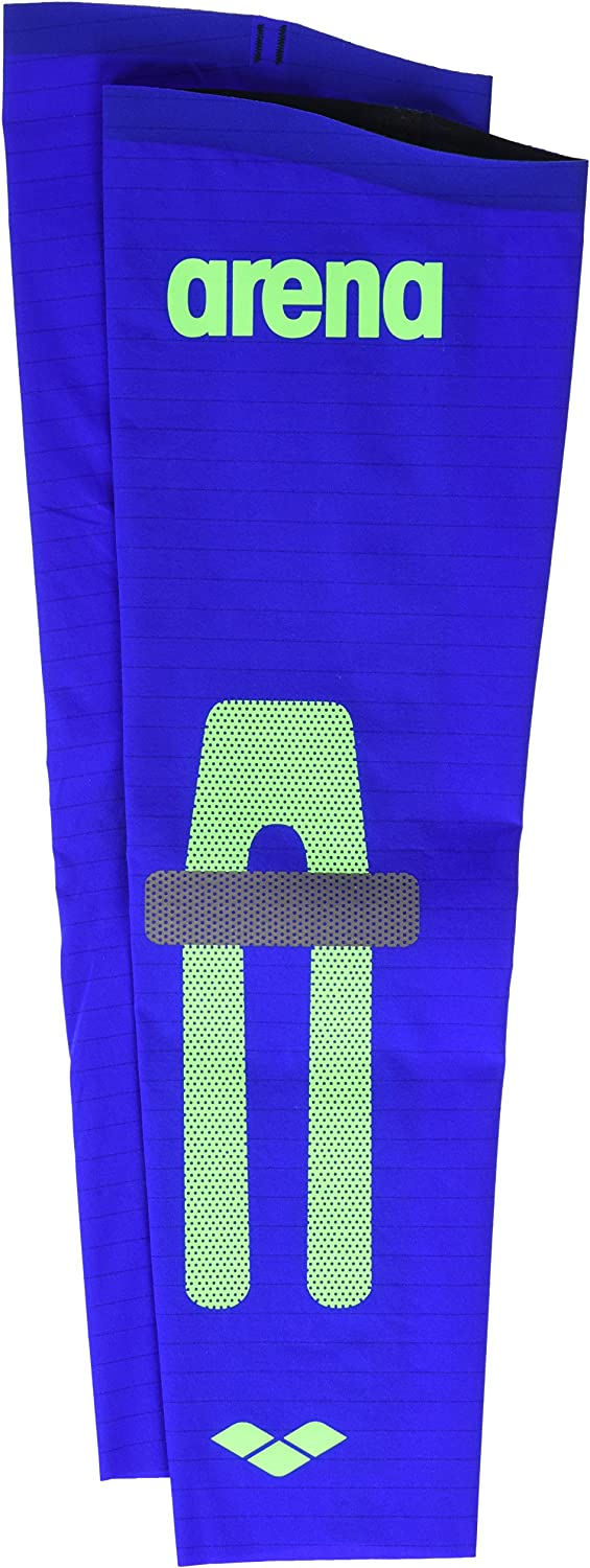 (Large, Electric blueee) - Arena unisex Carbon Compression Arm Sleeves