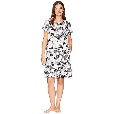 Donna Karan Floral Sleepshirt (Pristine Floral) Women