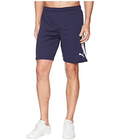 PUMA Liga Shorts (Peacoat/Puma White) Men