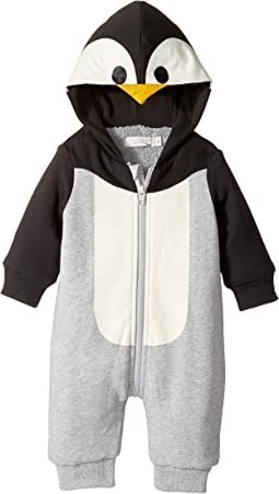 Stella McCartney Kids - Bowden Penguin Fleece Lined All-In-One (Infant)
