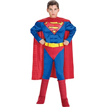 Rubbies - Disfraz de Superman para niño, talla M (5-7 años ...