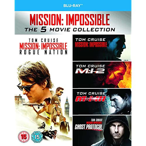 Mission Impossible 1-5 [Region Free]
