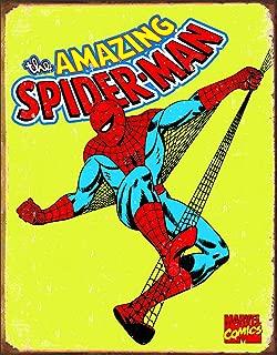 Spiderman Retro Tin Metal Sign