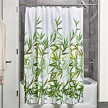 InterDesign Anzu Shower Curtain, Green