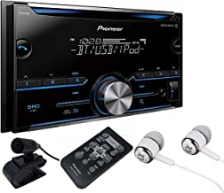 Pioneer FH-S501BT Double DIN CD USB Aux Car Stereo Receiver Built-in Bluetooth, MIXTRAX, Android Music Support & iPhone Compatibility, Pandora & Spotify, Pioneer ARC App /Free ALPHASONIK Earbuds