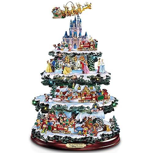 Bradford Exchange The Disney Tabletop Christmas Tree: The Wonderful World  Of Disney - Christmas Disney Decorations: Amazon.com