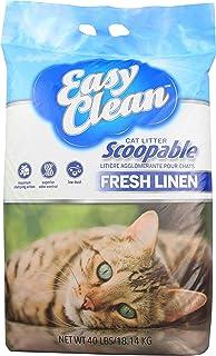Easy Clean Cat Litter Fresh Linen,18.14KG