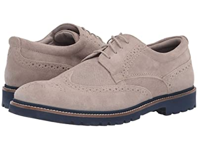 Rockport Marshall Wingtip (Rocksand Suede) Men