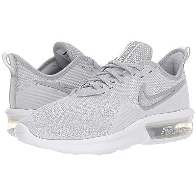 Nike Air Max Sequent 4 (White/White/Wolf Grey) Women