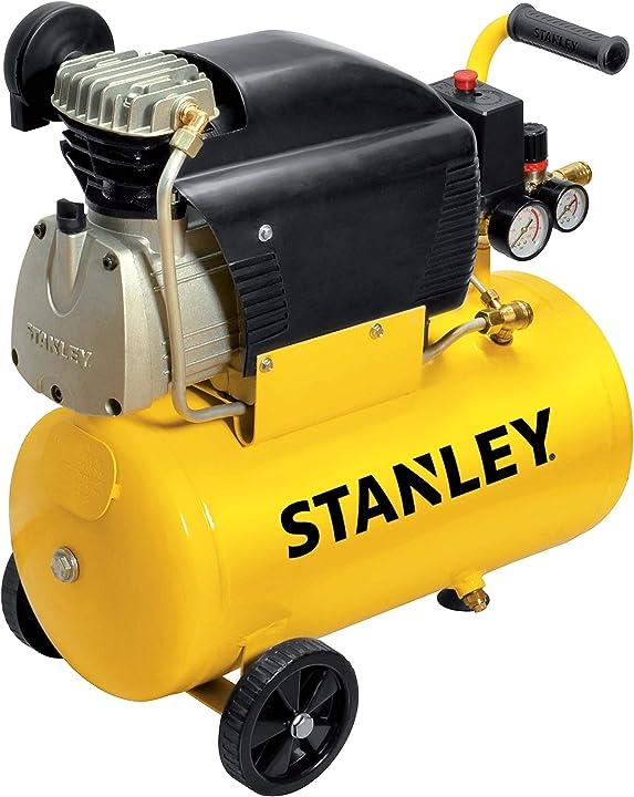 Compressore 24 litri 2hp giallo 24 kg stanley d211/8/24 FCCC404STN005