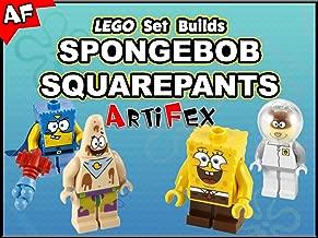 Clip: Lego Set Builds Spongebob Squarepants - Artifex