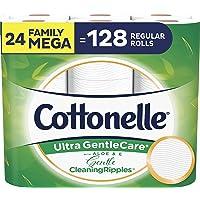 Cottonelle Ultra GentleCare Toilet Paper (24 Family Mega Rolls)