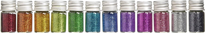 DOODLEBUG Metallic Sugar Coating Max 60% OFF Glitter Bottles 5gm famous Assortmen