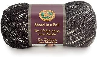 Lion Brand Yarn 828-207 Shawl in a Ball Yarn, One Size, Feng Shui Grey