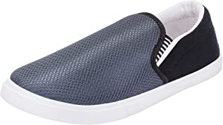 2ROW Men's Knitted Grey Loafers