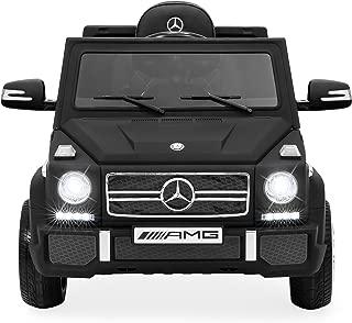 Best Choice Products Kids 12V Licensed Mercedes-Benz G65 SUV RC Ride On Car, 3 Speeds, Matte Black