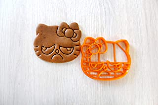 Cookie Cutter by 3DForme, HELLO KITTY Baking Cake Fondant Frame Mold for Buscuit