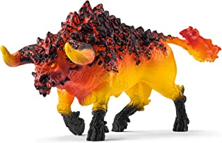 Schleich Fire Bull Toy Figure