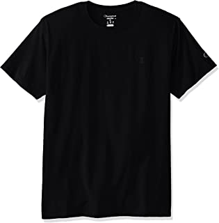 (4X-Large, Black) - Champion Men's Classic Jersey T-Shirt