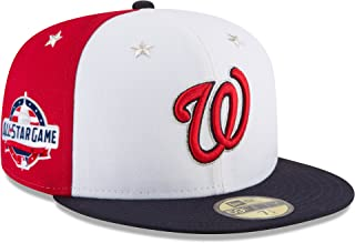 New Era Washington Nationals 2018 MLB All-Star Game On-Field 59FIFTY Fitted Hat – White/Navy