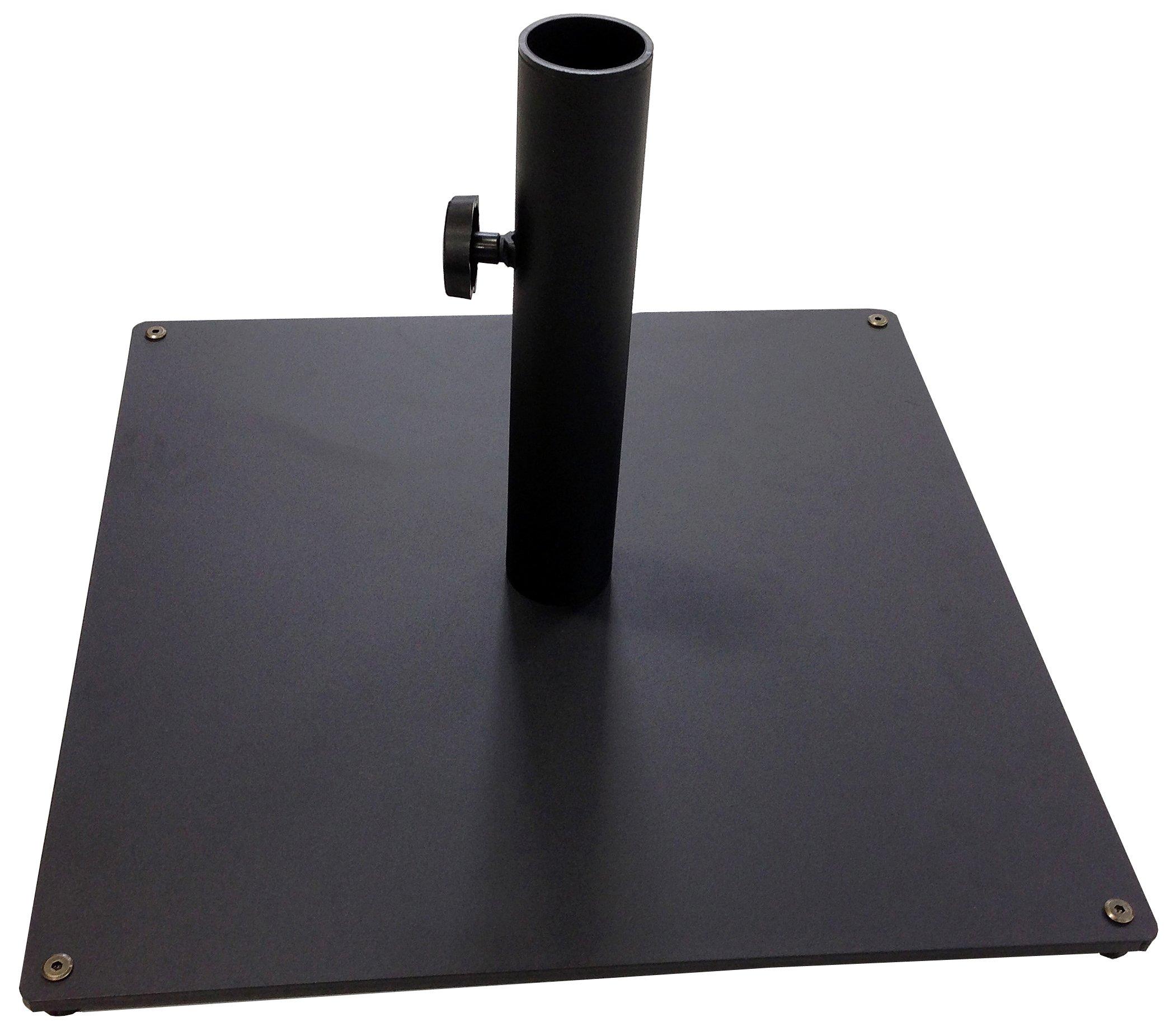 Tropishade Steel Plate Umbrella Black