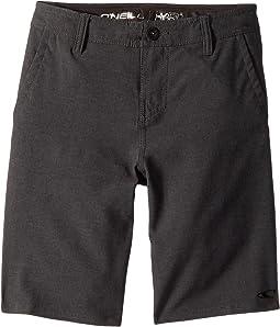 Loaded Heather Hybrid Shorts (Big Kids)