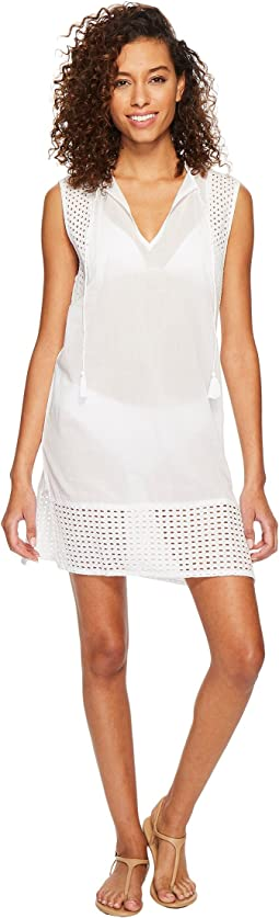 Eyelet Breeze Tunic Cover-Up