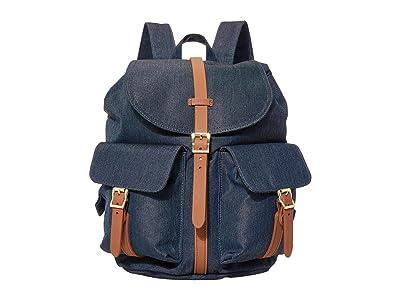 Herschel Supply Co. Dawson Small (Indigo Denim Crosshatch) Backpack Bags