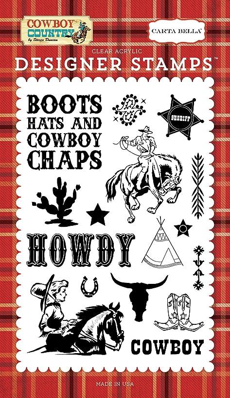 Carta Bella Paper Company Howdy Cowboy 4X6 Stamp