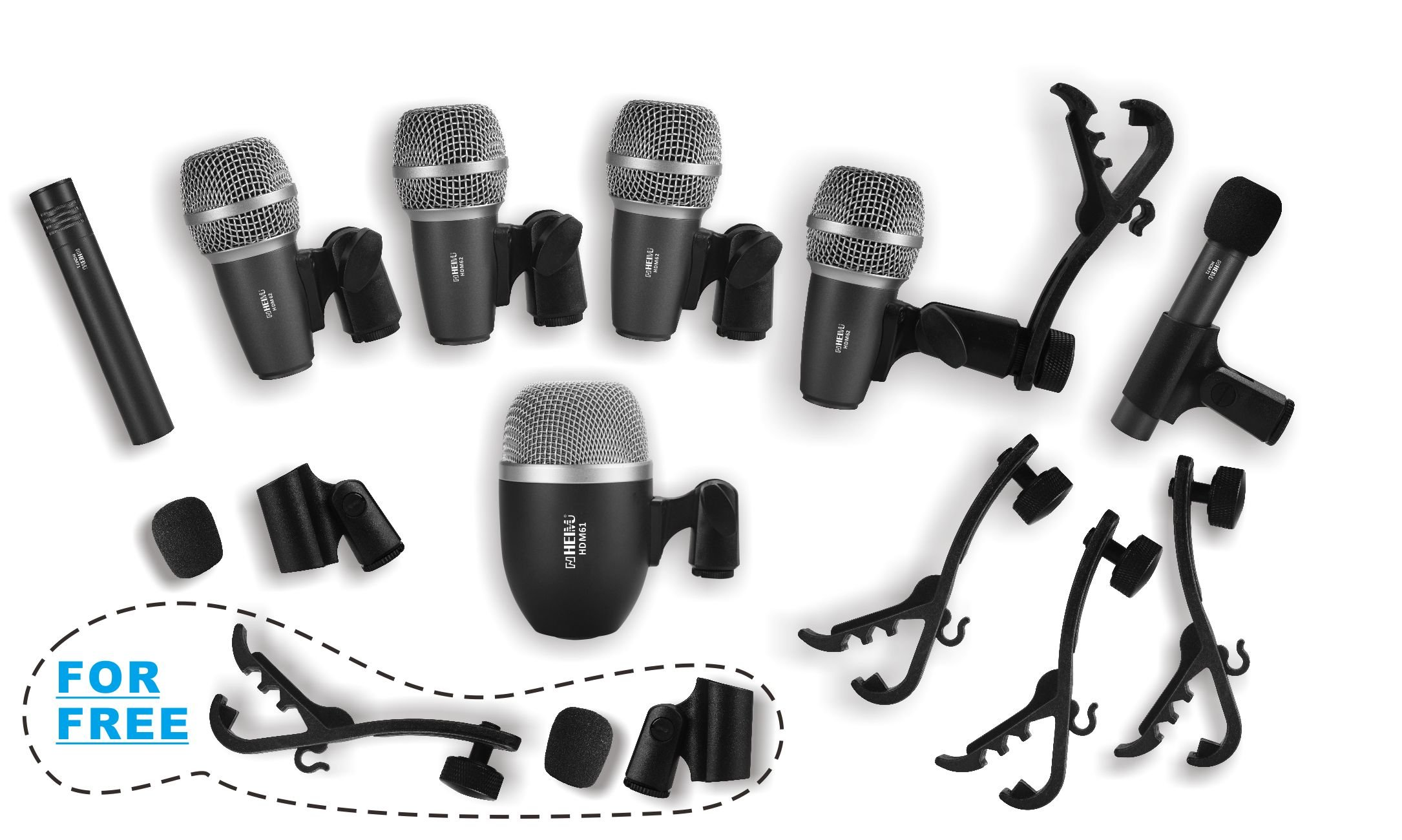 Heimu Wired Microphone Musical Instruments